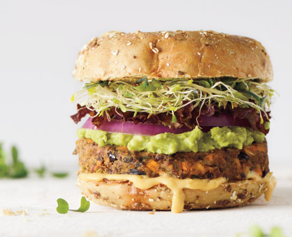 How to Make Healthier Burgers with Quick Swaps & Strategies